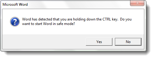 word how to turn off compatibility mode