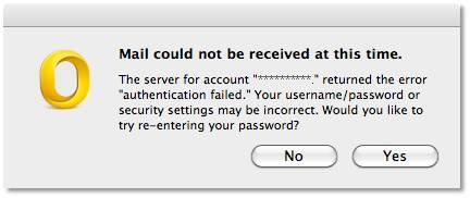 "Fix: Error message ""authentication failed""' in Microsoft"