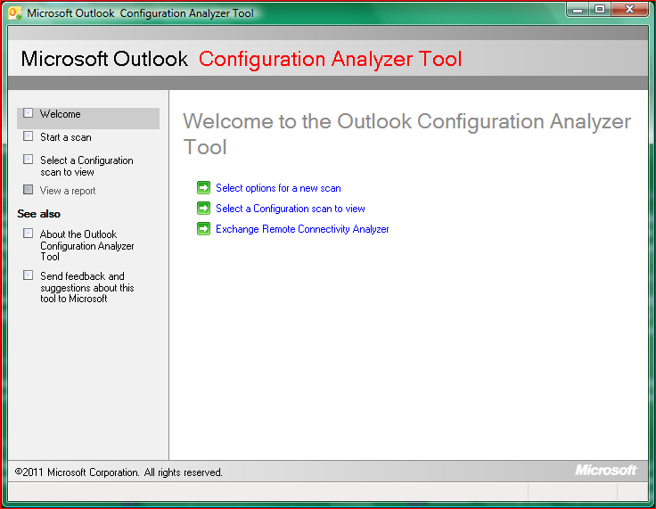 Microsoft Outlook Configuration Analyzer Tool (OCAT) now available